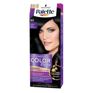 Palette ICC farba na vlasy 50ml N1