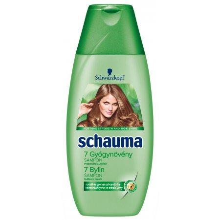 Schauma 7 Bylín šampón 400ml
