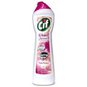 Cif Cream Pink Flower tekutý piesok 500ml