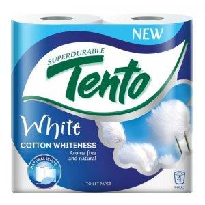 Toaletný papier Tento White , 2-vrstvový 4ks
