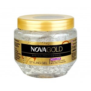 Nova Styling gél na vlasy 250ml Gold Wet look