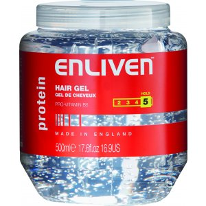 Enliven gél na vlasy 500ml Protein White 5