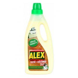Alex čistič na drevené podlahy 750ml 2v1