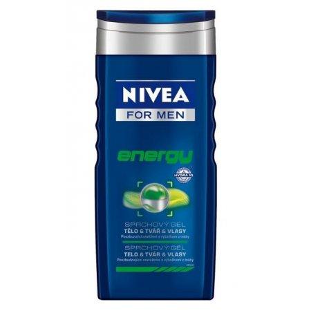 Nivea pánsky sprchový gél 250ml Energy