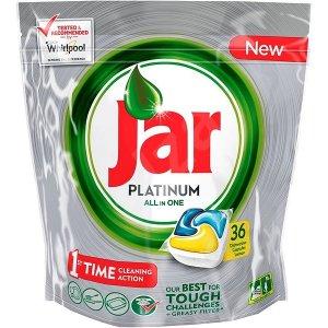 Jar Platinum All in One Yellow kapsule do umývačky 36ks