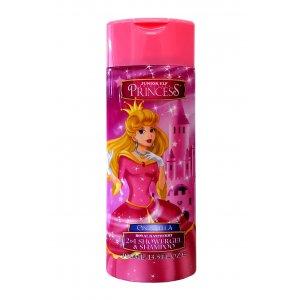 Corsair Princess deský sprchový gél + šampón 2v1 400ml Cinderella