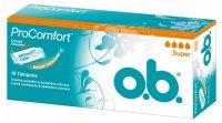 O.B. Pro Comfort tampóny 16ks Super