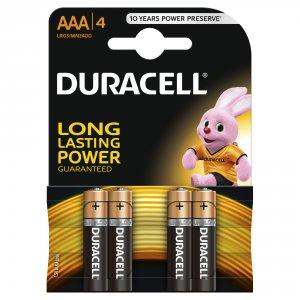 Duracell AAA tužkové baterky LR03 / MN2400 4ks