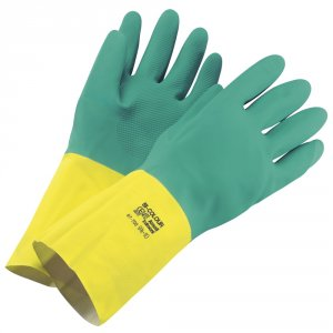 Bi-Color extra pevné rukavice veľkosť S (6,5-7)