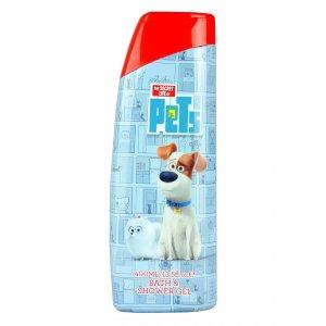 Corsair Tajný život maznáčikov detská pena do kúpeľa+sprchový gél 2v1 400ml