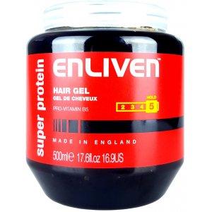 Enliven gél na vlasy 500ml Protein Black 5
