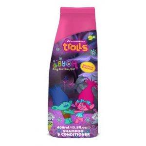 Trolls detský šampón s kondicionérom 2v1 400ml