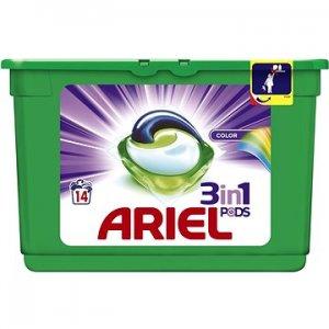 Ariel Color gélové kapsule na pranie 14ks