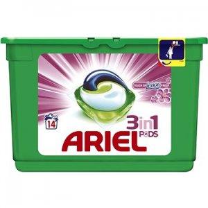 Ariel Touch of Lenor gélové kapsule na pranie 14ks