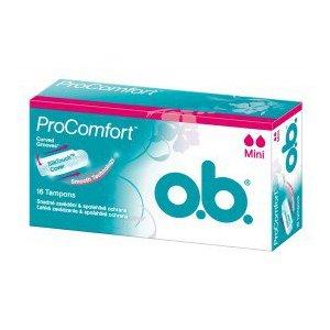 O.B. Pro Comfort dámske hygienické tampóny 16ks Mini