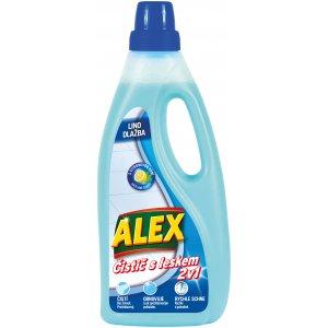 Alex čistič na podlahy 750ml čistič s leskom dlažba, linoleum, vinyl 2v1 s citrónovou vôňou