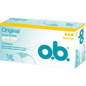 O.B. Original Normal tampóny 16ks