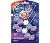 Domestos Power 5 Lavender tuhý WC blok 2x55g
