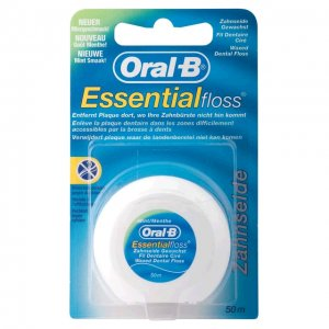 Oral-B Essential Floss zubná niť voskovaná 50m Mint