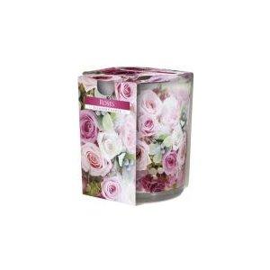 Bispol Roses vonná sviečka v skle SN72S-02