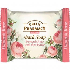 Green Pharmacy Damask Rose with Shea Butter toaletné mydlo 100g