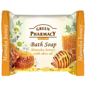 Green Pharmacy Manuka Honey with Olive Oil toaletné mydlo 100g