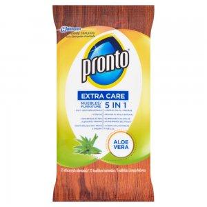 Pronto Extra Care Aloe Vera vlhčené obrúsky 25ks