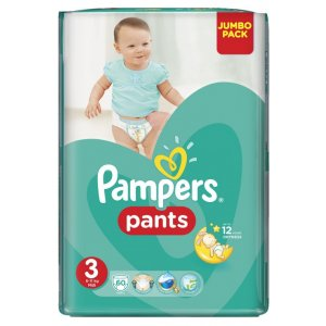 Pampers Pants Midi 3 6-11kg 60ks