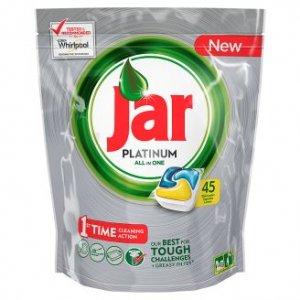 Jar Platinum kapsule do umývačky riadu 45ks Lemon