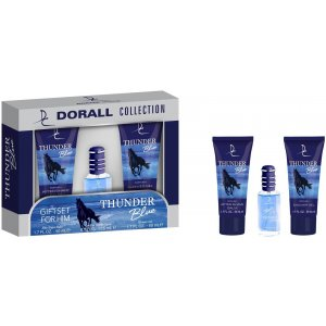 Dorall Collection Thunder Blue pánsky darčekový set 3ks