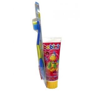 Bobini zubná pasta detská s kefkou