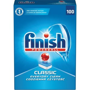 Finish Powerball Classic tablety do umývačky riadu 100ks 1810g