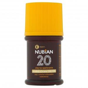 Nubian olej na opaľovanie SPF20 60ml