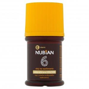 Nubian olej na opaľovanie OF 6 60ml