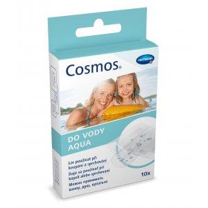 Cosmos Aqua vode odolná náplasť pre kúpeľ a sprchovanie 10ks