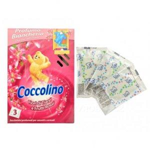 Coccolino Ružové vonné sáčky do skrine 3ks