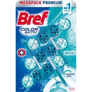 Bref Color Aktiv Ocean (Turquoise) záveska do WC 3x50g