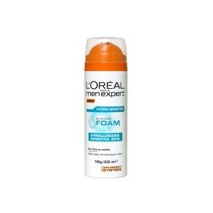 L´Oréal Men Expert Hydra Sensitive pena na holenie 200ml