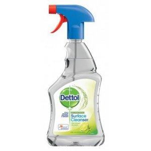 Dettol Sufrace Cleanser Limet & mint scent antibakteriálny čistič na povrchy 500ml