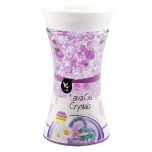 Ardor Lava Gel Chrystals Lavender Chamomile gélový osviežovač vzduchu 150g