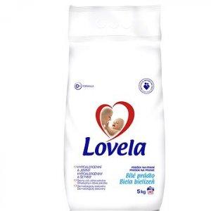 Lovela Biela prací prášok 5kg na 40 praní