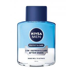 Nivea Protect&Care 2v1 voda po holení 100ml