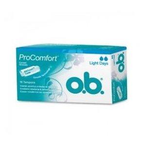 O.B. Pro comfort Light Days tampóny 16ks
