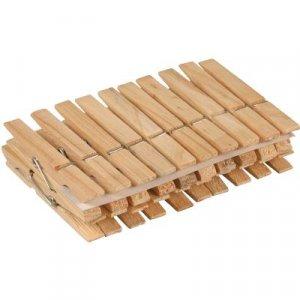 Velvet drevené kolíky na prádlo 24 ks