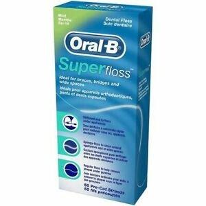 Oral-B Super Floss zubná niť 50m