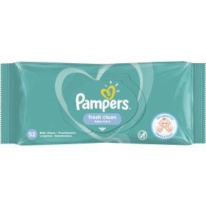 Pampers Fresh Clean detské vlhčené utierky 52ks
