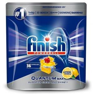 Finish Quantum May Lemon tablety do umývačky 36ks