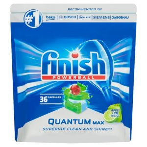 Finish Quantum Max Apple&Lime Blast tablety do umývačky 36ks