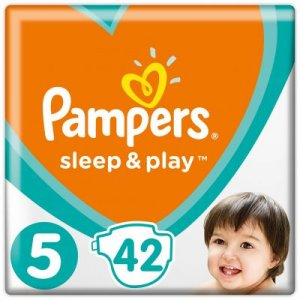 Pampers Sleep & play junior 42 ks