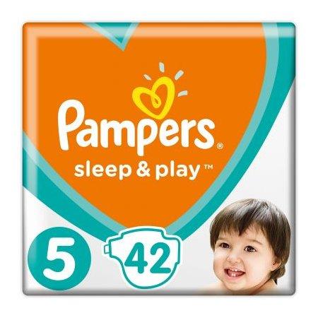 Pampers Sleep & play junior 42 ks